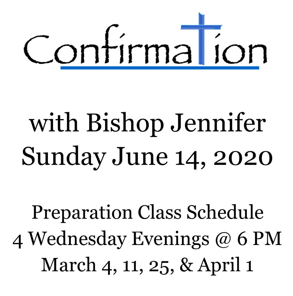 Confirmation, June 14